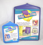 "Tidy Crafts Tidy Tray Combo, 6"" x 8"" and 10"" x 14"", 2-Pack"
