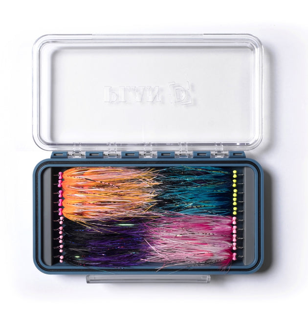 Plan D Pack Articulated Fly, Streamer, Fly Box PLUS w/ FREE Black Zinger