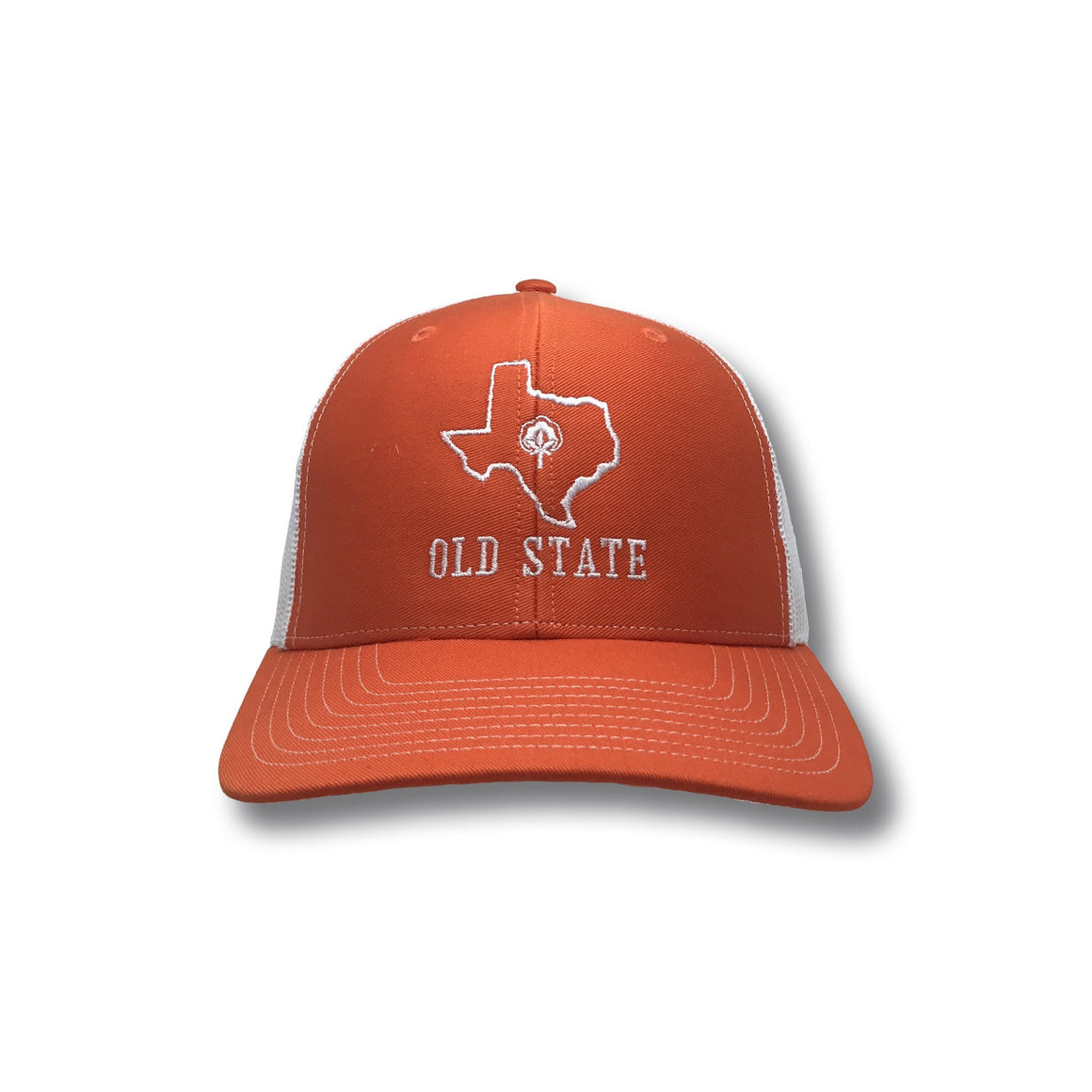 Old State Pride Hats Texas - TX State Logo Trucker Hat
