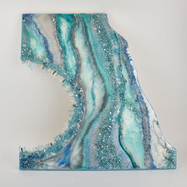 Resin Geode Wall Art, Saturday 2/29/20, 10am-6pm Class 140