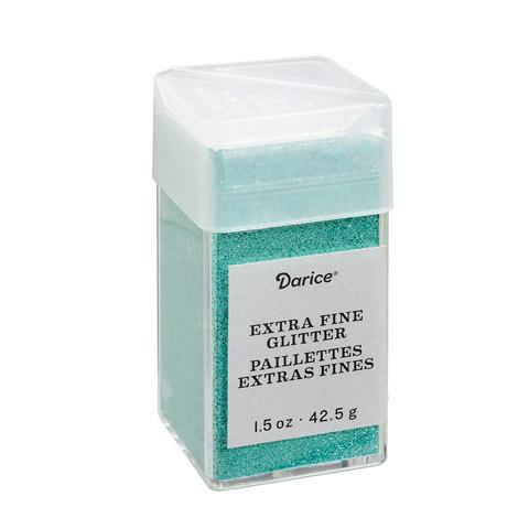 Paradise Blue Green Extra Fine Glitter, 1.5 oz, cft0180