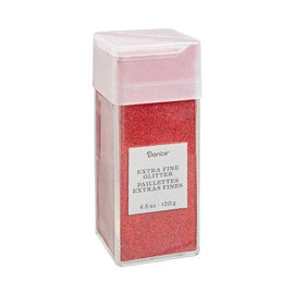 Cherry Red Extra Fine Glitter, 4.5 oz, cft0206