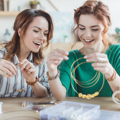 Beginner Jewelry Making, Tuesday 2/18/20, 10am-1pm Class 142