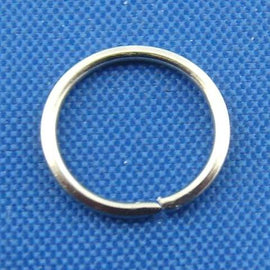 BULK 600 Silver Tone Open Jump Rings 8mm x 0.8mm, 21 gauge wire  jum0038b