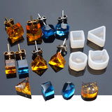 "5 RESIN CUBE Molds, Tiny Silicone Molds to make cube 5mm square (3/16""), earring mold, mold, clay mold, reusable, tol0841"