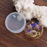 "2 RESIN Circle PENDANT MOLDS, Silicone Mold to make round circle 25mm (1"") charm pendants, reusable, tol0851"