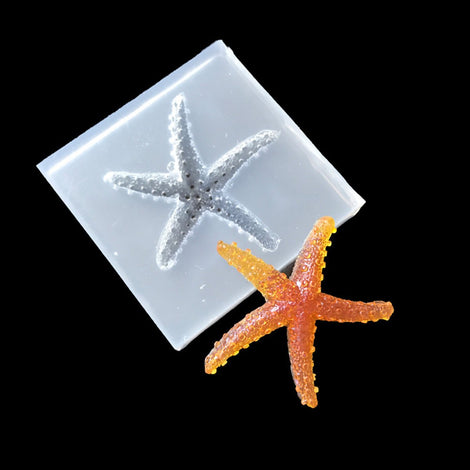 1 Resin STARFISH MOLD, Silicone Mold tol0905
