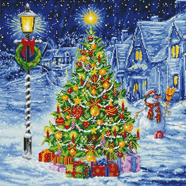Diamond Painting Kit, Oh Christmas Tree, Diamond Dotz Diamond Embroidery kit0423