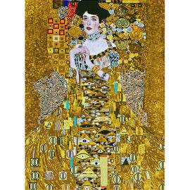 Diamond Painting Kit Klimpt Woman in Gold Diamond Dotz kit0464
