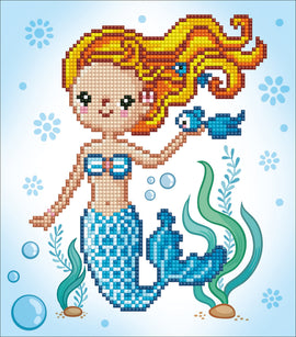 Diamond Painting Kit Mental Sweet Swimmer Diamond Dotz kit0459