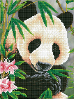 Diamond Painting Kit Panda Prince Diamond Dotz dd7.040 kit0461