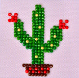 "Rhinestone Painting Kit, CACTUS Diamond Dotz Diamond Embroidery, Texas Bloom Diamond Facet Art, Bling Wall Art 3x3"" canvas kit0120"