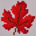 "Rhinestone Painting Kit, AUTUMN DREAM, Red Leaf Diamond Dotz Diamond Embroidery, Diamond Facet Art, Bling Wall Art 3x3"" canvas kit0110"