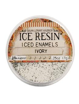 Iced Enamels Ivory Beige ICE Resin for Cold Enameling, 0.25oz, cft0188