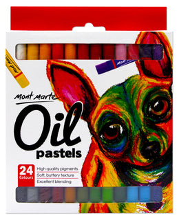 Oil Pastels Set, 24 colors, PNT0093