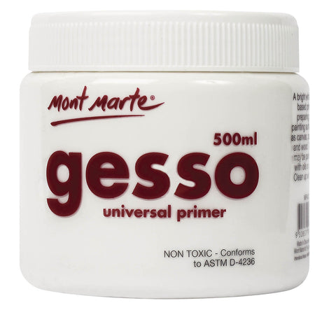 Gesso Paint Primer 500ml, pnt0154