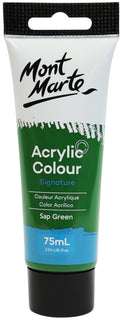 Acrylic Paint, Sap Green, Semi-Matte, 75ml, pnt0173