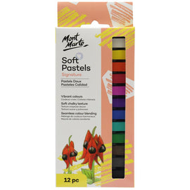 Mont Marte Soft Pastels - Colour 12pc, pen0007