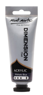 Acrylic Dimension Paint, Phthalo Blue, 75ml, pnt0120