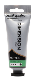 Acrylic Dimension Paint, Emerald Green, 75ml, pnt0122