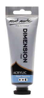Acrylic Dimension Paint, Pearl Sapphire Blue, 75ml, pnt0105