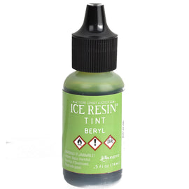ICE Resin Tint, Beryl Green, 1/2 oz. bottle, GROUND SHIPPING Only, pnt0038