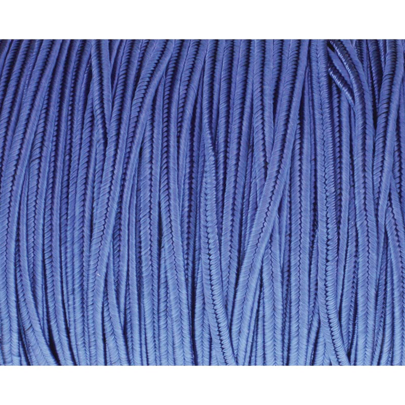 Soutache Tyrol Braid Cord, Royal Blue, 3mm, 3 yds, cor0237