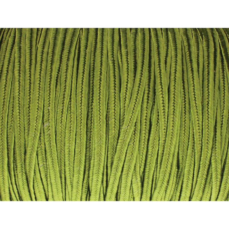 Soutache Tyrol Braid Cord, Celery Green, 3mm, 3 yds, cor0263