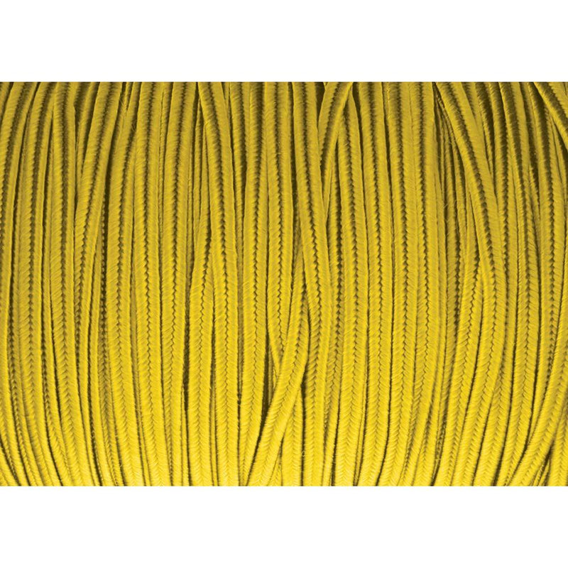 Soutache Tyrol Braid Cord, Goldenrod Yellow, 3mm, 3 yds, cor0247