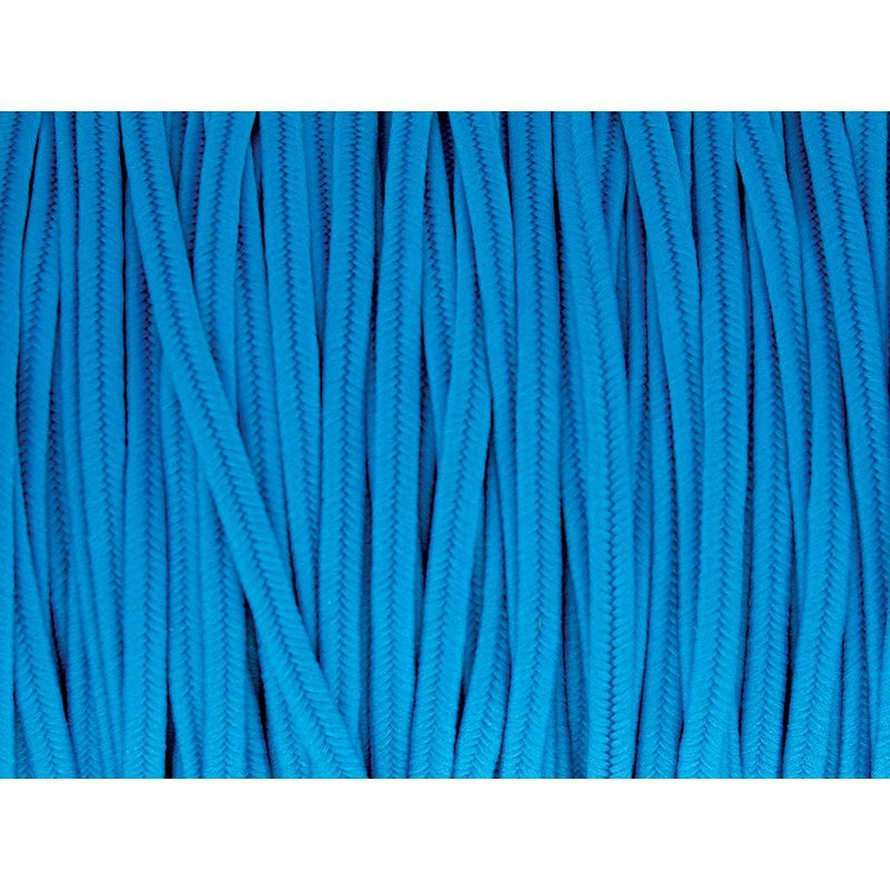 Soutache Tyrol Braid Cord, Peacock Blue, 3mm, 3 yds, cor0243