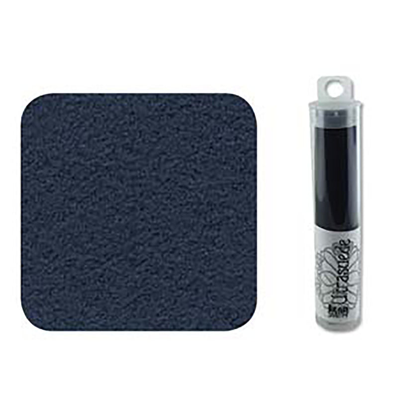 "Ultrasuede Admiral Navy Blue 8.5"" x 4.25"" Tube, USD0018"