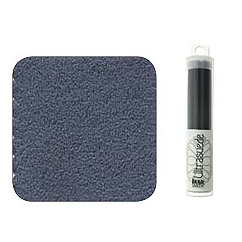 "Ultrasuede Soft Petroleum Blue Gray 8.5"" x 4.25"" Tube, USD0014"