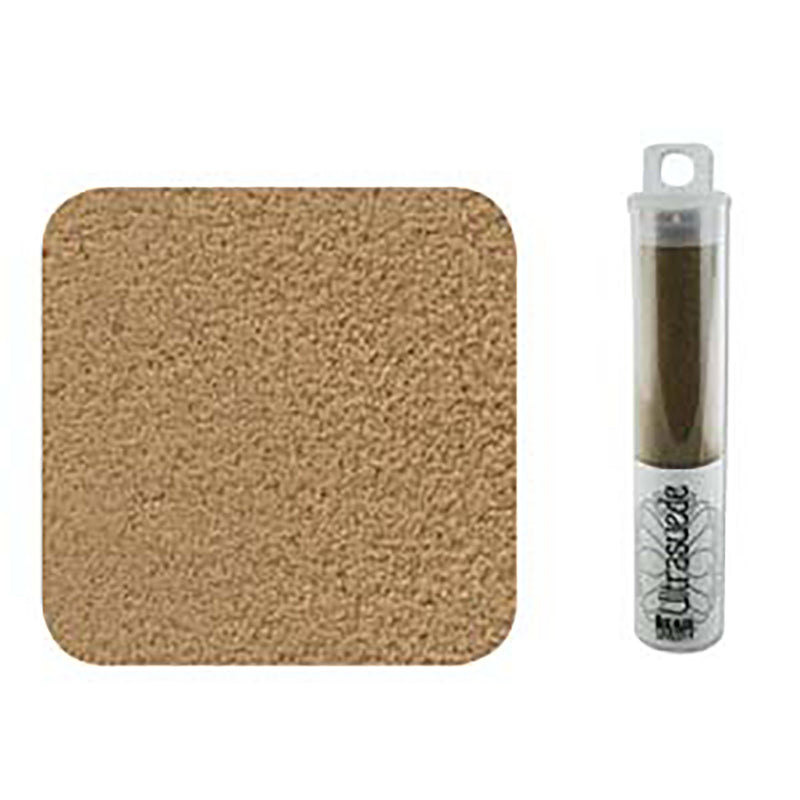 "Ultrasuede Camel Brown 8.5"" x 4.25"" Tube, USD0025"