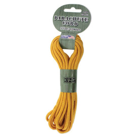 21ft Paracord 325 Golden Yellow 3mm Parachute Cord cft0144