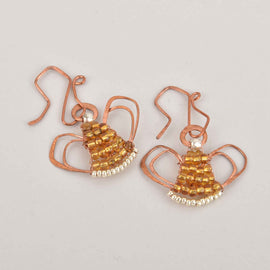 Angel Earrings Class, Saturday, 12/7/19, 9am-11am, Class 127