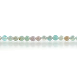 6mm Round BLUE GREEN AGATE Beads, smooth, full strand, 63 beads, gag0357
