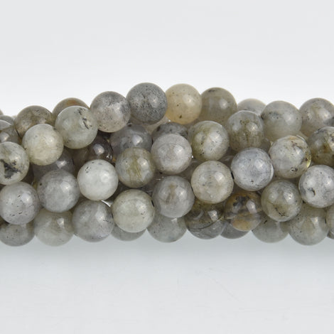 6mm LABRADORITE Round Beads, Natural Gemstone Labradorite Beads, full strand, glb0007