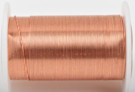 24ga COPPER CRAFT WIRE, Tarnish Resistant Craft Wire, wire wrapping, 24 gauge, 24 ga copper wire, 30 yards (90 feet) spool wir0049