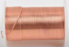 20ga COPPER CRAFT WIRE, Tarnish Resistant Craft Wire, wire wrapping, 20 gauge, 20 ga copper wire, 15 yards (45 feet) spool wir0051
