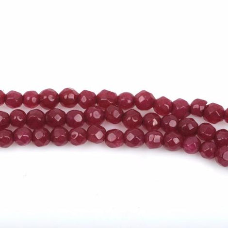 3mm Round JADE Gemstone Beads, Faceted, full strand, about 128 beads, gjd0176