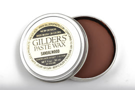 SANDALWOOD Gilders Paste, Wax Patina Paint,  Wax Gilders Paste, 1 oz, 30ml, pnt0018