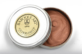 COPPER METALLIC Gilders Paste, Wax Patina Paint,  Wax Gilders Paste, 1 oz, 30ml, pnt0021