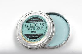 Light BLUE VERDIGRIS PATINA Gilders Paste, Wax Patina Paint, Wax Gilders Paste, 1 oz, 30ml, pnt0025