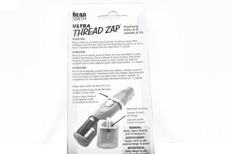 ULTRA THREAD ZAP™ Thread Burner Tool, Heats instantly to trim, burn, or melt thread, tol0585
