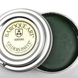 GREEN VERDIGRIS PATINA Gilders Paste, Wax Patina Paint,  Wax Gilders Paste, 1 oz, 30ml, pnt0032