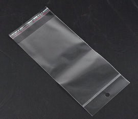 "200 Resealable Self-Sealing Bags, usable space 15x9cm, (7-7/8 x 3-1/2"") bulk package cello bags  bag0022"