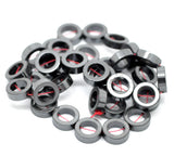 12mm Hematite OPEN DONUT CIRCLE Loose Beads, full strand, about 33 beads, ghe0082