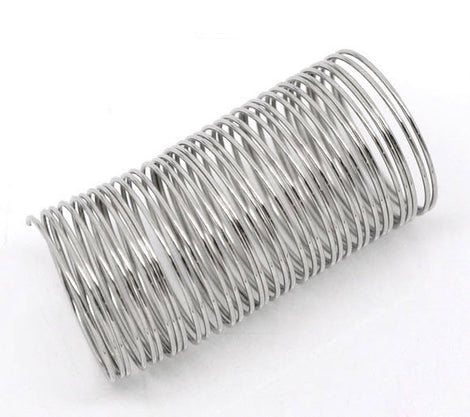"1000 Hardened Steel Memory Wire Loops  20mm . finger rings or wine glass rings, about 3/4"" diameter  wir0010"