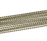 1 yard BRONZE Metal Ball Chain, bead chain fch0298a