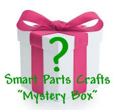 Smart Parts Craft Supplies MYSTERY BOX  .  Worth at least 20 dollars